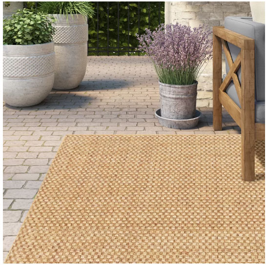 Sisal Jute Indoor Outdoor Area Rugs