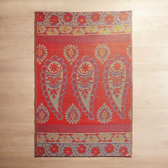 brightly colored indoor outdoor rugs