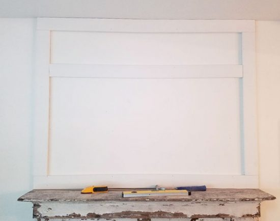 installing-board-and-batten-over-a-fireplace