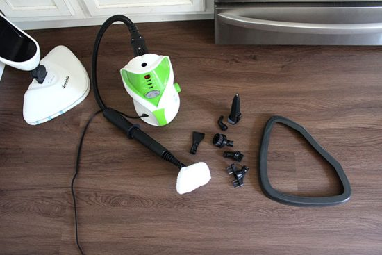 steam mop accessories