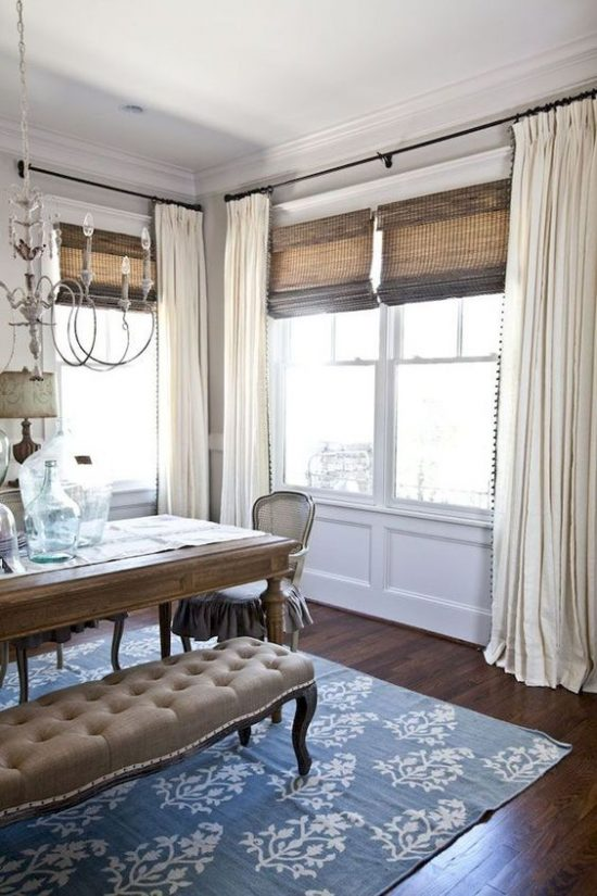 beautiful curtains for dining room, how to hang curtains, decorating mistakes to avoid