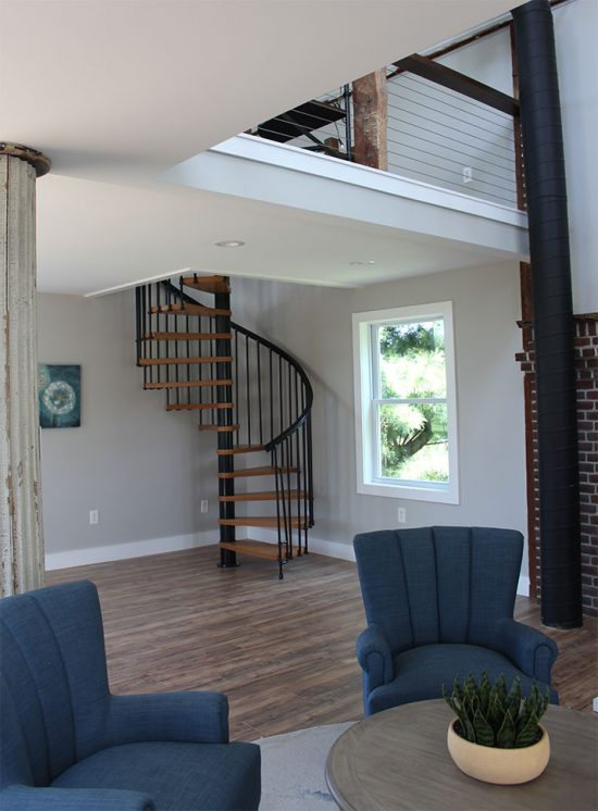 converted-barn-spiral-stairs