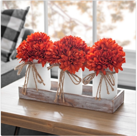 fall floral centerpiece mums, fall flower arrangements