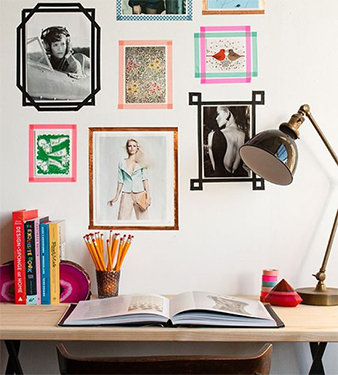 Hanging Pictures Without Nails -8 Ways