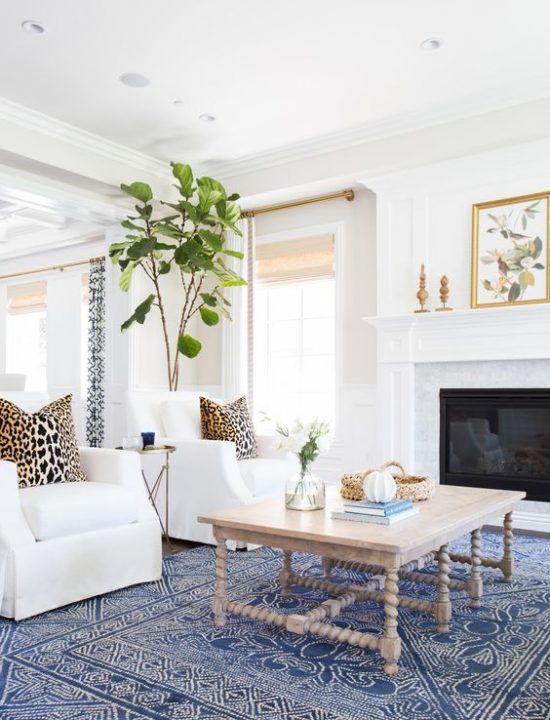 living room styling, no clutter, decorating mistakes not to make