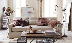 slipcovered furniture FI