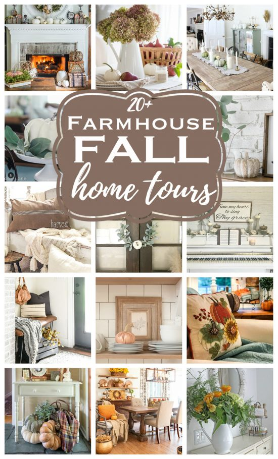 Beautiful fall home tours from design bloggers you have to see!