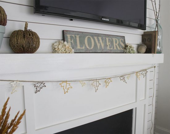 Cricut-DIY-fall-leaf-banner