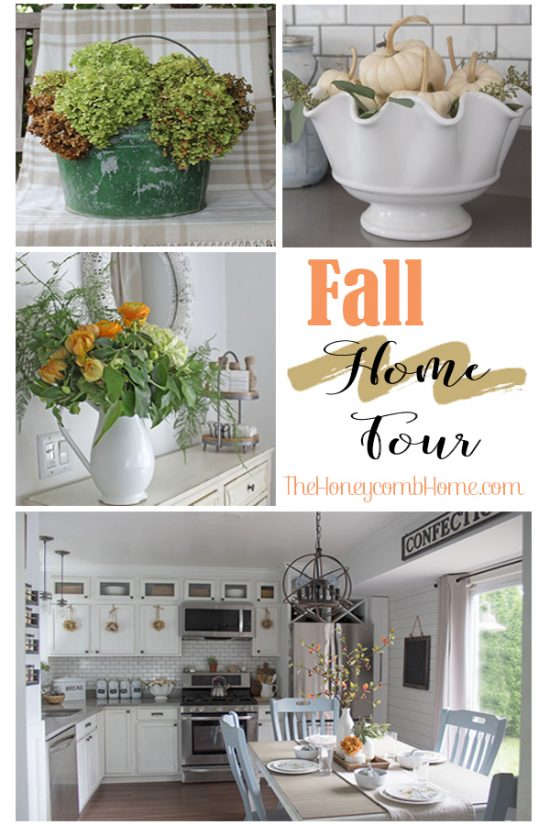 Fall Home Tour, lots of fall decorating inspiration from bloggers!