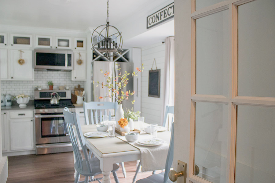 fall home tours kitchens
