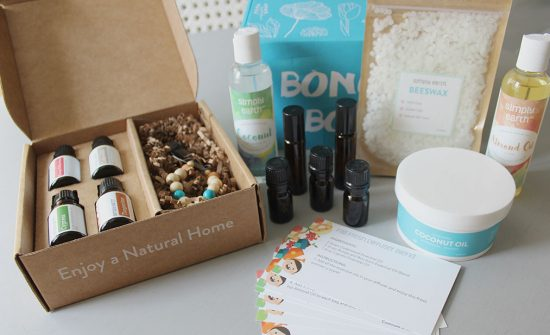 Simply-Earth-Essential-Oils-Sept-box, essential oils diffuser recipes