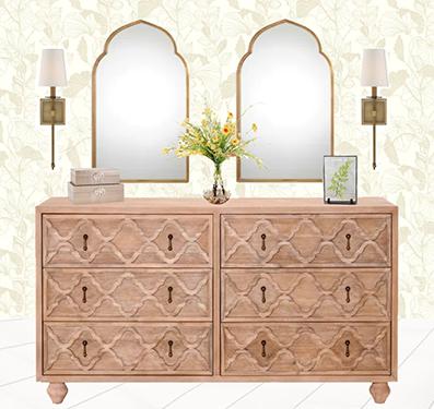 4 Ways to Style A Dresser