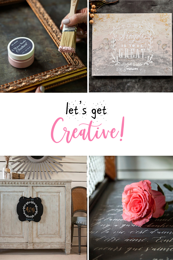 Creative ideas to make for the home, regardless of your level of experience! Find inspiration for everything from furniture to crafts and learn how you can make this a side income too!