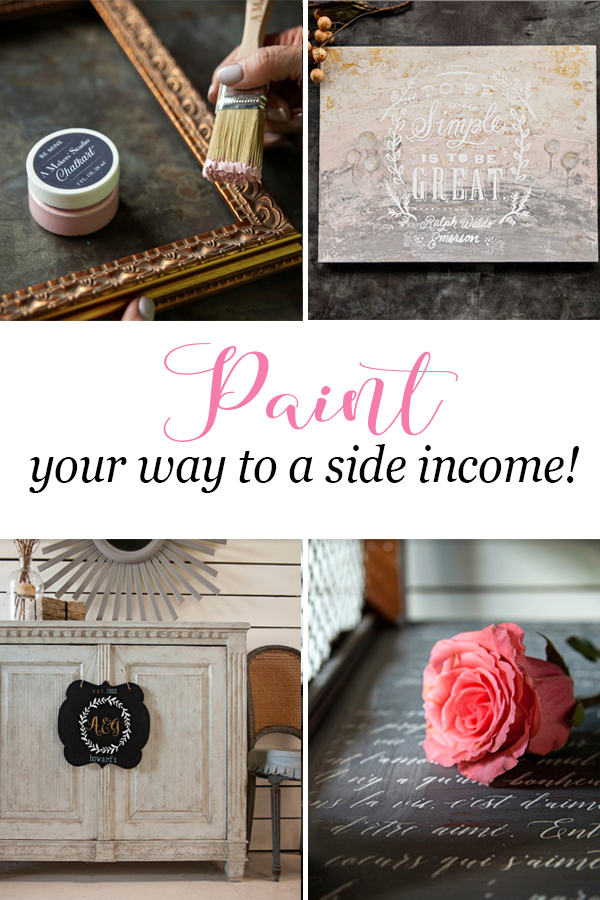 Do you love DIY and crafts? Learn how to turn your passion into a money making side income!