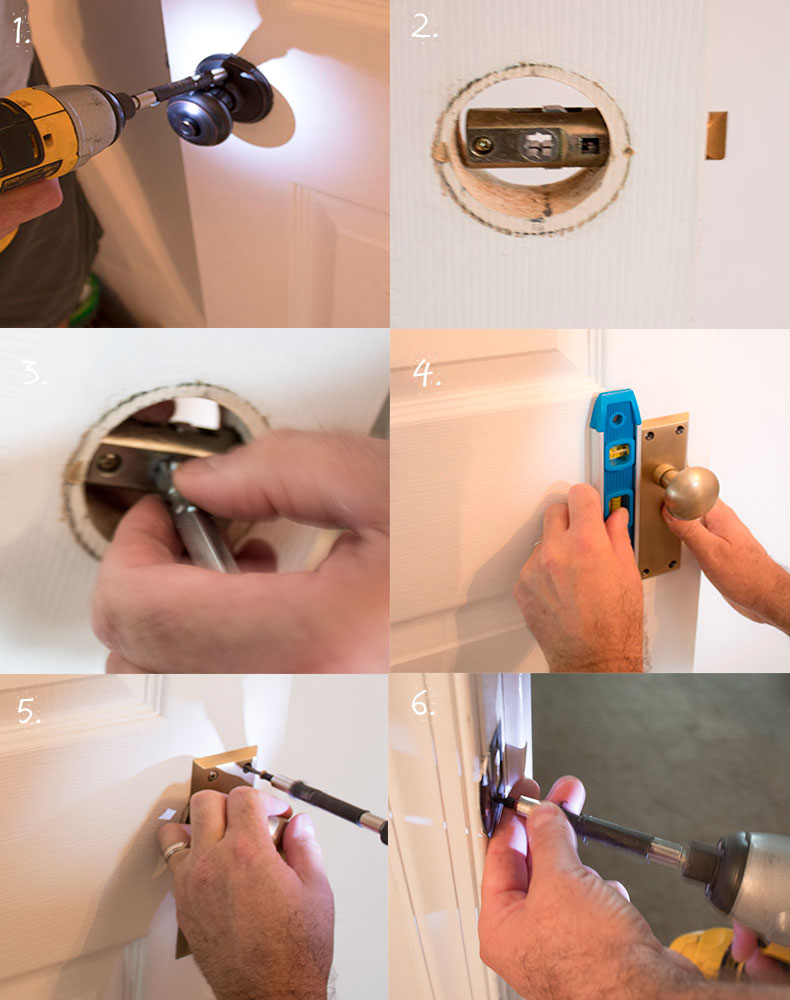How-to-change-a-doorknob-illustrations