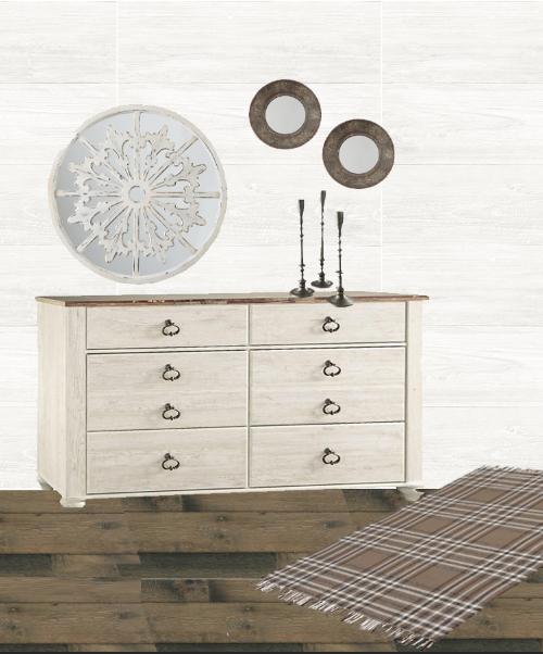 3 ways to style a dresser, dresser vignettes, home decorating ideas