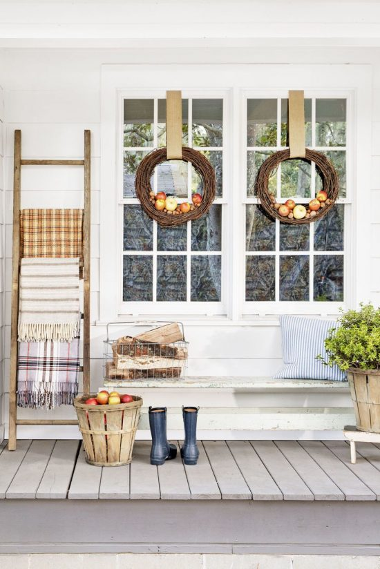 cl front porch for fall