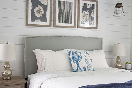 Shiplap Accent Wall – The Easy Way!!!