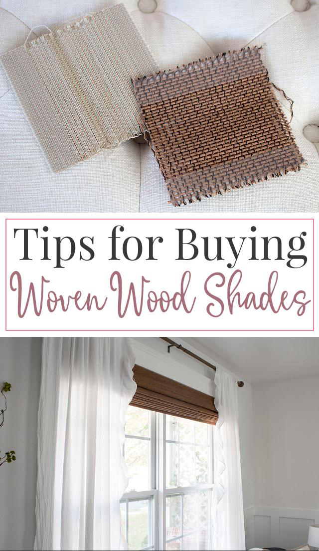 Wood woven shade or bamboo blinds are classic window treatment solutions. Get selection, buying, and styling tips like how to pair bamboo blinds with curtains.