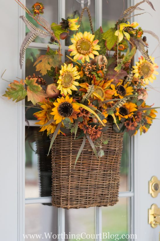 worthington court fall front door