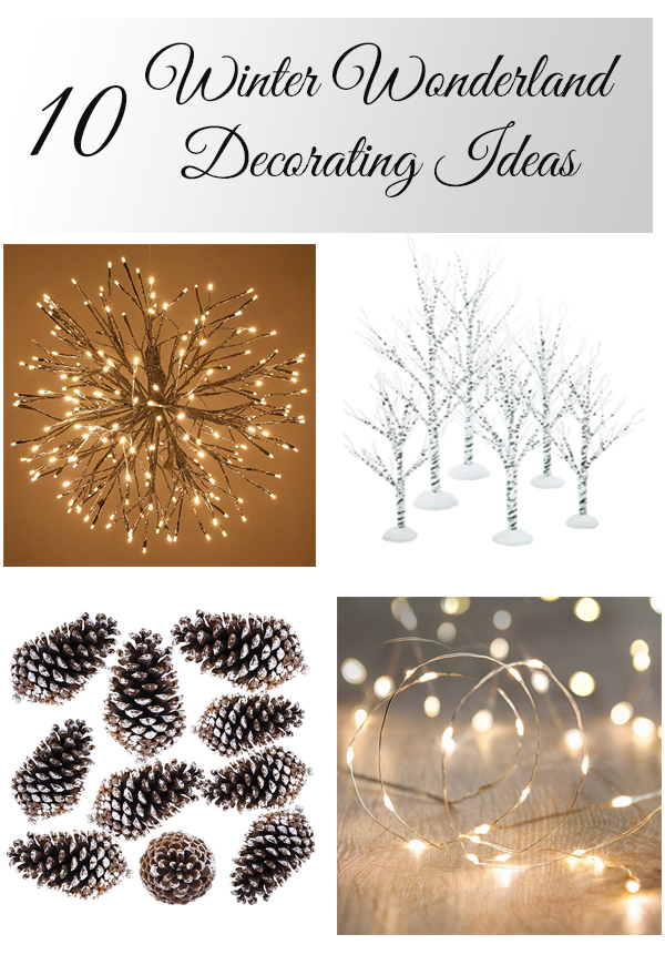 10 Winter Wonderland Christmas Decorating Ideas for your home