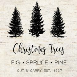 Christmas tree farm Printable FI