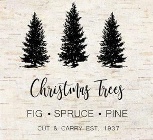 Christmas tree farm Printable FI
