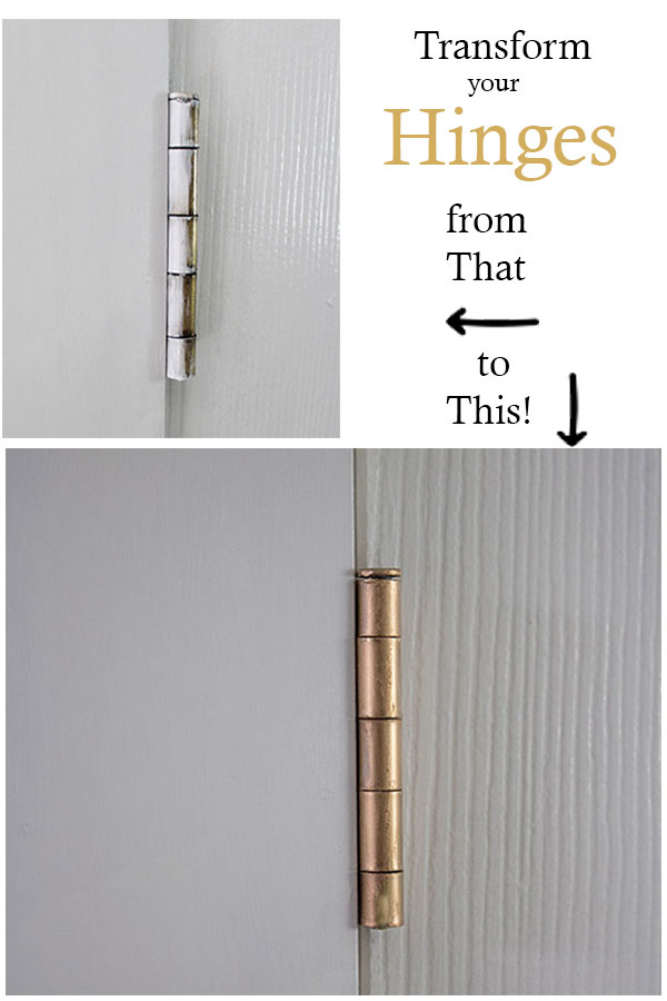 Clean-up-those-door-hinges,-learn-the-easist-way-to-remove-the-paint-and-refiinish-them!--#DIY