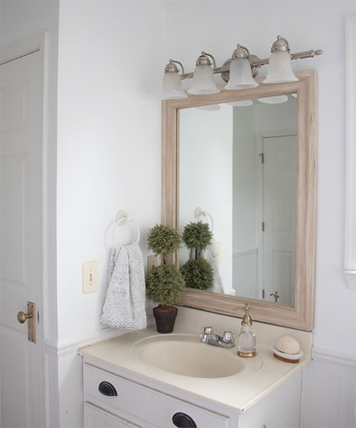 framing-a-large-mirror-DIY