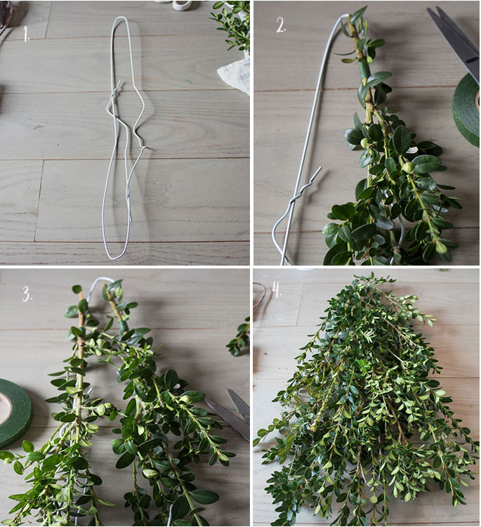 how-to-make-a-boxwood-swag-for-Christmas,-Christmas-door-decorations