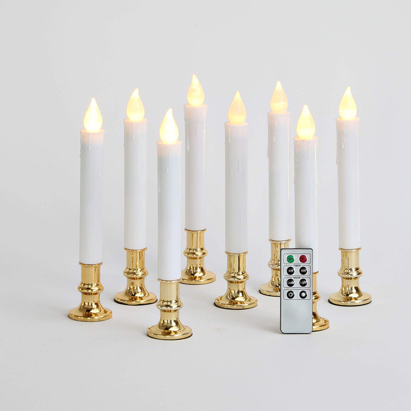 white window candles
