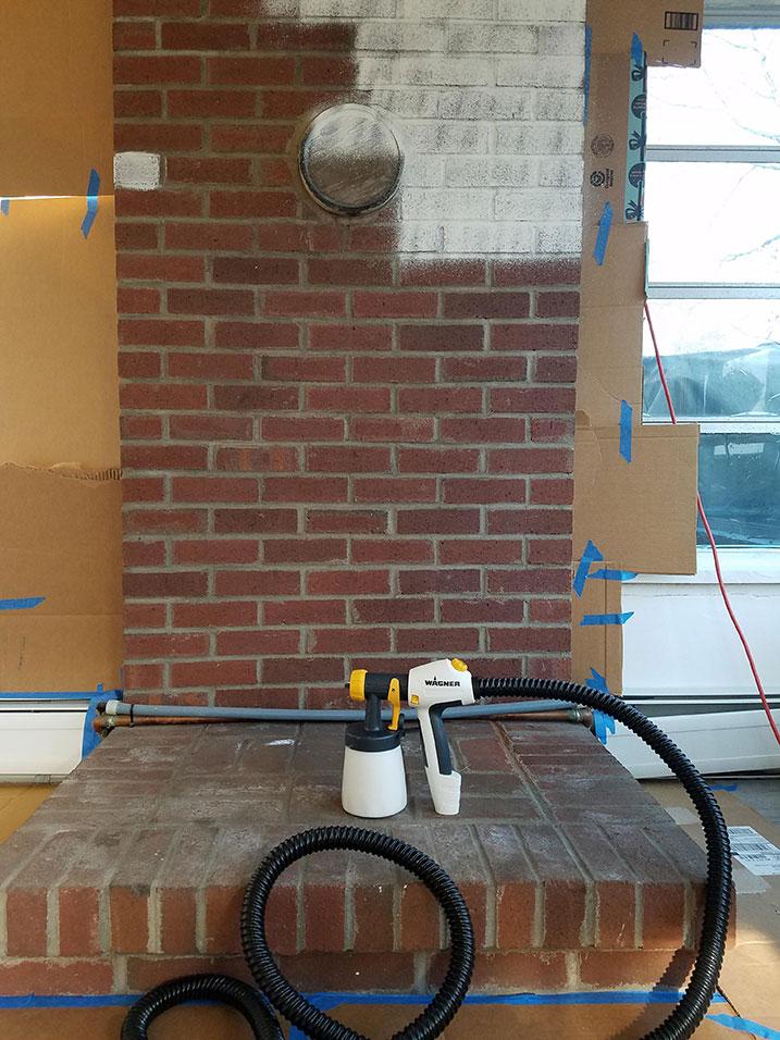 painting brick the easiest way