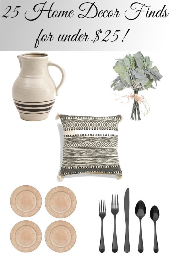 25 Beautiful Home Decor Finds for Under $25!!