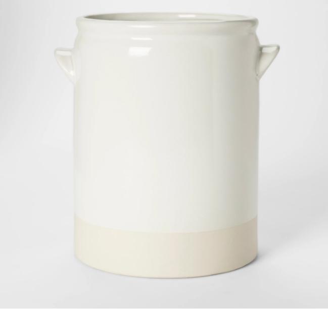decorative vase with handle