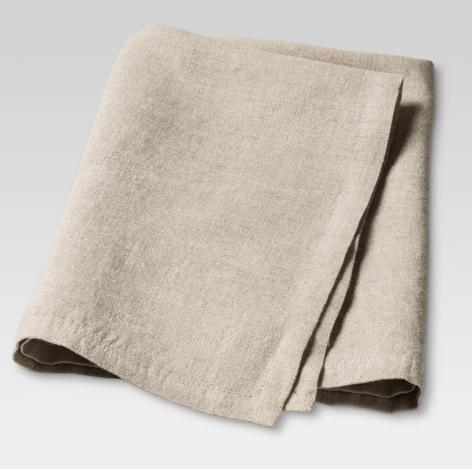 set of 4 linen napkins