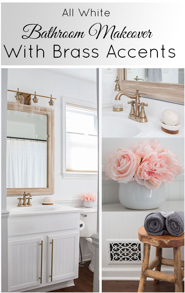 This-small-builder-grade-bathroom-went-from-boring-to-beautiful-with-a-white-vanity,-white-walls-and-gold-accents