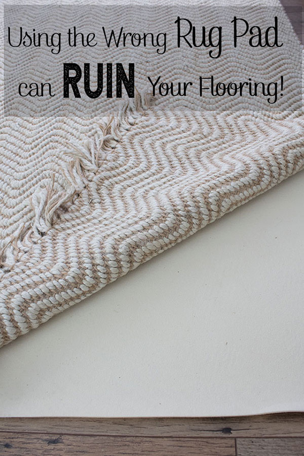 When choosing a rug pad it pays to do your homework, the wrong type of rug pad can discolor and ruin your flooring, fortunately we have done the research for you!