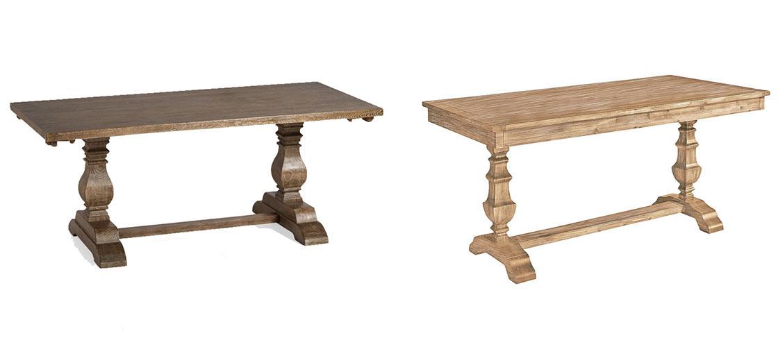 save vs splurge dining table