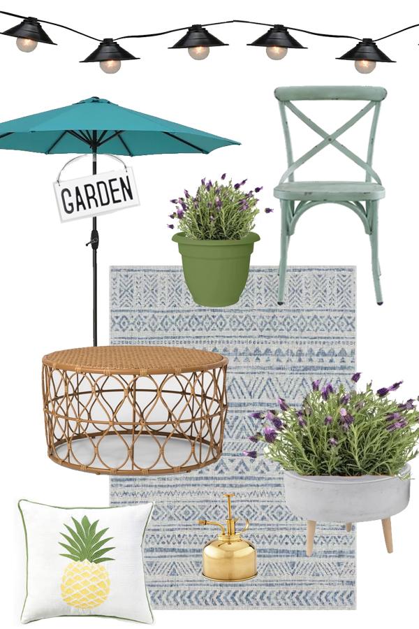 Outdoor living, backyard, porch and patio decor ideas!