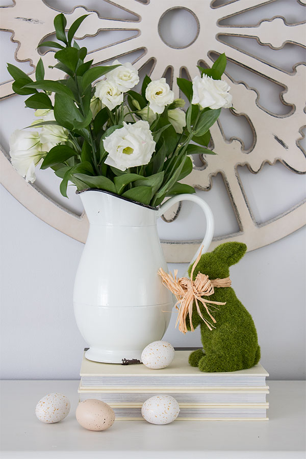 Easter decorating ideas, easy centerpieces and vignettes