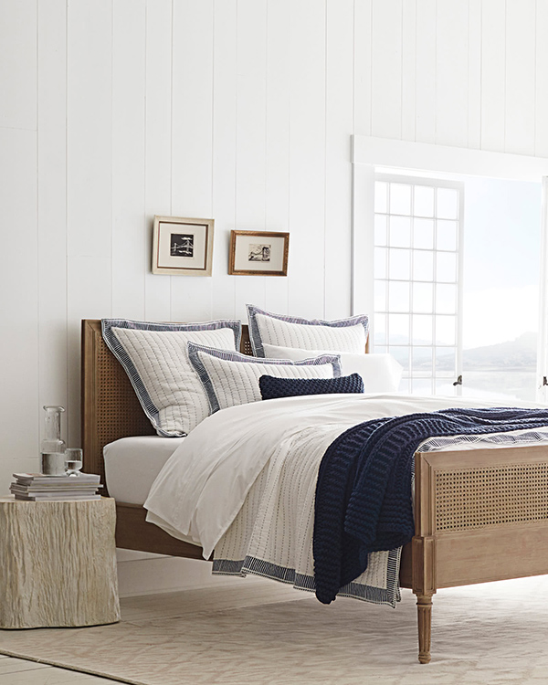 harbor quilt navy summer bedding