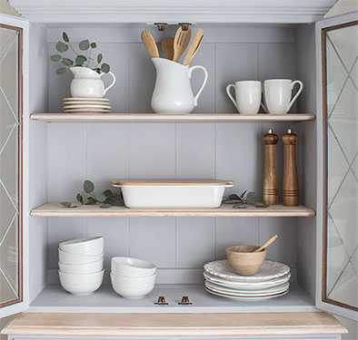 Upcycled Hutch Makeover