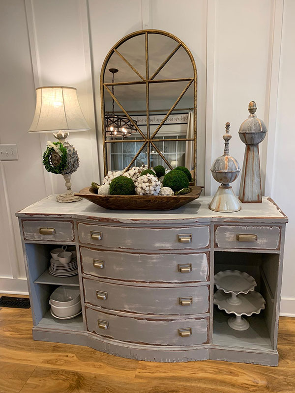 Sideboard-Vignette-from-The-Morris-Manor