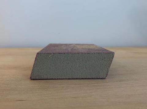 angled sanding sponge