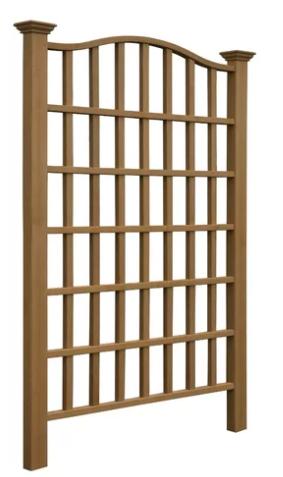 affordable wooden garden trellis