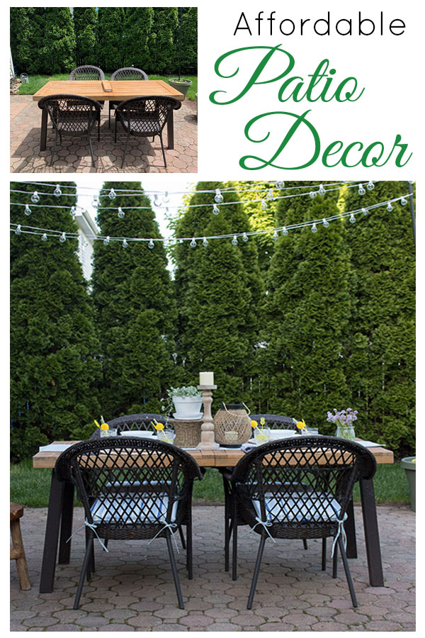 Affordable patio cushions and outdoor decor you'll love