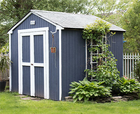 Painted Shed Transformation