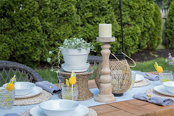 Patio Cushions and Backyard Decor
