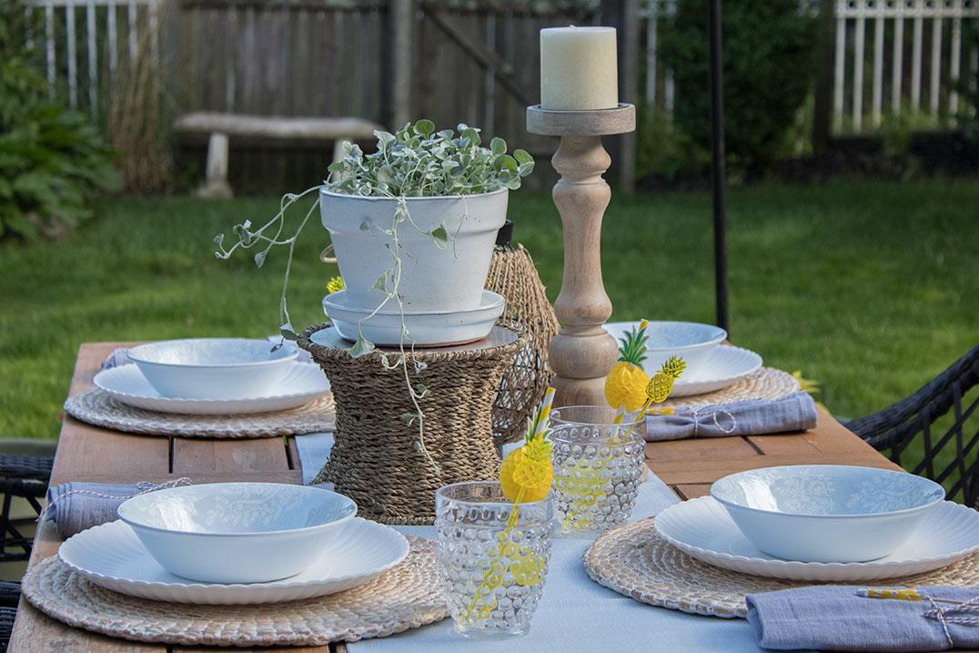 patio decor the honeycomb home