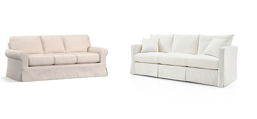 slipcovered-sofas splurge vs save